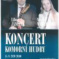 Koncert komorní hudby - Janeček, Mikhailova